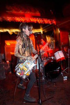Crust punk of Leeds, England. NU POGODI
