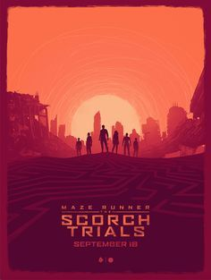 the maze runner minimalist posters - Google Search
