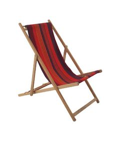 French Beechwood Deck Chair from Remodelista