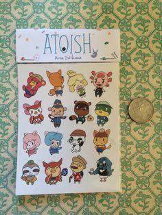 Mini note sticker cute Japanese style NT007