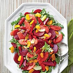 Top-Rated Christmas Brunch Recipes: Beet-and-Citrus Salad