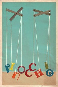 Logophilia's Amazing Movie Posters - Pinocchio