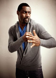 Idris Elba - Art direction by Jim Gilbert, via Behance