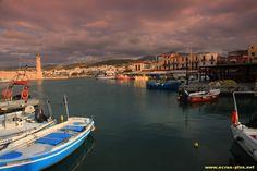 Le port de Rethymnon - Crete - Grece