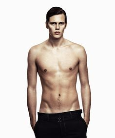 bill skarsgard.  he is in the upcoming netflix series hemlock grove.