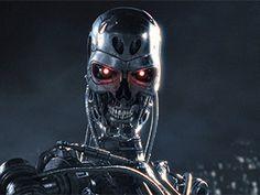 Fondo de Pantalla de robot malvado