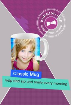 Help dad sip and smile every morning