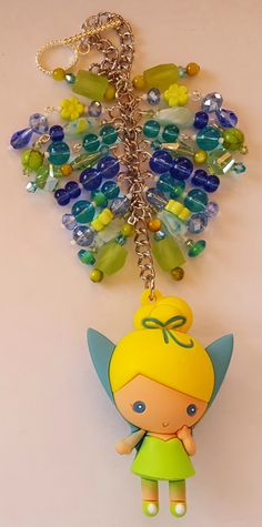 Tinkerbell Purse Charm available at www.facebook.com/magic365