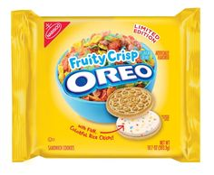 Oreo to Launch Blueberry Pie and Fruity Crisp Flavors Weird Oreo Flavors, Cookie Flavors, Sandwich Cookies, Oreo Cookies, Oreos, Crisp Sandwiches, Nabisco Oreo, Starbucks, Potato Crisps