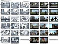 How to draw - storyboard // http://www.floobynooby.com/comp1.html
