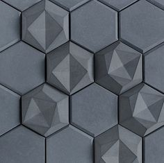 """""""Edgy"""" from the Kaza Concrete Collection in Night Straight Matte - Available at World Mosaic Tile in Vancouver"""