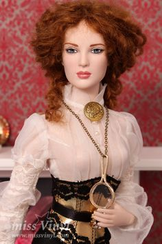 Nu Mood Lily Breathless in Imperium park blouse