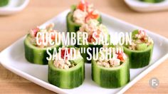 "Weight Watchers Summer Recipes Cucumber Salmon ""Sushi""Healthy Living Healthy Living may refer to: Weight Loss Detox, Weight Loss Diet Plan, Weight Loss Smoothies, Healthy Weight Loss, Lose Weight, Plats Weight Watchers, Weight Watchers Meals, Healthy Detox, Healthy Drinks"