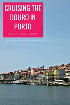 One of the things to do in Porto, Portugal is travel along the Douro river on a river cruise.
