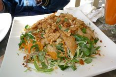 "Heavenly Salad (or Vietnamese ""goi"") with soy chicken 