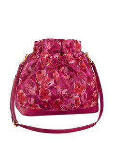 Louis Vuitton Flower Print Noe Bag.