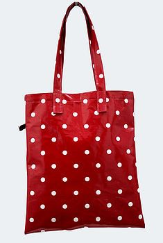 Oilcloth Vintage Inspired Book Bag Issy by Love Lammie
