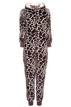 Giraffe Print All-In-One