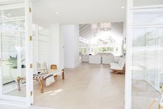 Partial reveal from my favorite renovation team, Three Birds Renovation, in New South Wales, Australia. The Guest House Thx 3 Birds xoxoxo Copy Cat Chic ONE Australian Homes, Home, Updating House, Farm House Living Room, Open Living Room Design, Three Birds Renovations, House, Gorgeous Flooring, Interior Design