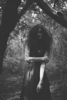 Dark Nymph-Like Photography - Woodland Spirit by Bret Sano Documents a Dark Witchy Transformation (GALLERY)