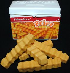 vintage fisher price fun with food FRENCH FRIES