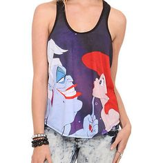 Disney The Little Mermaid Ariel Ursula Girls Tank Top | Hot Topic