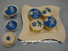 Chinese Theme cupcakes