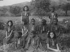 Group of young Girl Guides from Africa 022 - Babati, Tanzania (Tanganyika) in the mid 1950s