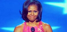 Michelle being, you know, fabulous at the Democratic National Convention.