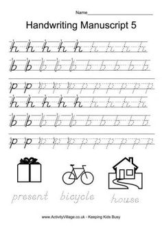 28 Best Handwriting Practice for 2nd, 3rd and 4th Grades ...