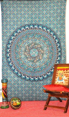 Hippie Tapestries, Mandala Tapestries, Indian Tapestry, Wall Tapestries, Bohemian Tapestries, Medallion Tapestry, Elephant Wall Art Tapestry