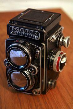 Camera http://anuglybeauty.tumblr.com/post/23610153568/for-sale-rolleiflex-camera-offers
