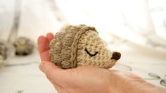 Crochet hedgehog part 2