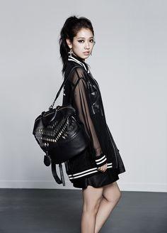 "Park Shin Hye International Fanclub | 박신혜 국제 팬클럽: [PHOTOS] Park Shin Hye for BrunoMagli FW ""Glam Rock"" 2014 Collection"