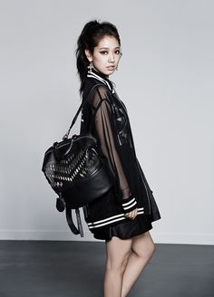 "Park Shin Hye International Fanclub | 박신혜 국제 팬클럽: [PHOTOS] Park Shin Hye for BrunoMagli FW ""Glam Rock"" 2014 Collection"