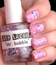 "Lush Lacquer ""Mr. Bubble"" #nails"