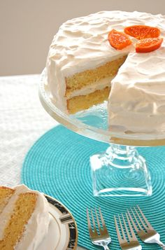 Orange Torte with Whipped Cream - This is a to-die-for Swedish cake recipe that's been in my family since the If you love citrus desserts, try this! Swedish Cuisine, Swedish Dishes, Swedish Recipes, Sweet Recipes, Easy Recipes, Homemade Cake Recipes, Pound Cake Recipes, Different Kinds Of Cakes, Alcohol Cake