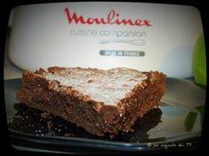 recette fondant chocolat au companion moulinex led79