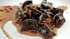 18   Bestia - One of the Italian dishes is agnolotti alla Vaccinara, cacao pasta parcels with braised ox tail, burro fuso, grana padano, pine nuts and currants. Katie Falkenberg / Los Angeles Times