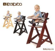 Keekaroo Height Right HIGH Chair (All-In-One). Available in Natural Mahogany u0026 Espresso. #Keekaroo #HighChair  sc 1 st  Pinterest & Keekaroo Height Right High Chair w/ Feeding Tray Mahogany ...