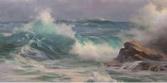 Seascape painting & tips from Johannes Vloothuis | ArtistsNetwork.com