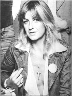 Christine McVie 1970s -Good to see her back on tour w/Fleetwood Mac, luv her!