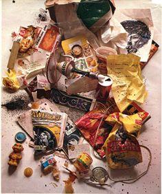 Bob Dylan's trash. The humble begginings of garbology!