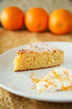 Orange and Almond Cake | Vegan & Gluten Free | Demuths Vegetarian Restaurant
