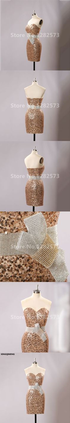 Champagne Cocktail Dress Cute Gilrs 2017 Vestidos Plus Size Sexy Homecoming  Dresses Short Robe De Cocktail Gowns  60a62014b2f0