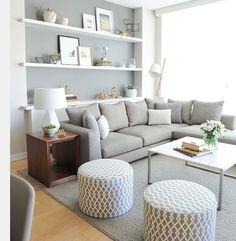 Greyscale Livingroom