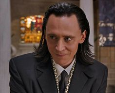 Loki's surge of sadistic adrenalin... He looks like such a naughty little boy in this scene.... I LOVE it!