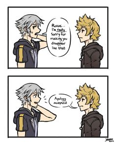 my pal mage is a freaking genius. All credits to them for this ridiculous script… – My Wallpapers Page Kingdom Hearts Meme, Vanitas Kingdom Hearts, Guardian Of The Moon, Kh 3, Funny As Hell, Gurren Lagann, Sora, Funny Comics, Fan Art