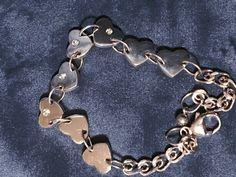 Heart Bracelet, Bracelets, Irish Jewelry, Claddagh, Charmed, Boutique, Silver, Gifts, Presents