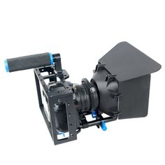 96.44$  Watch now - http://ali49b.worldwells.pw/go.php?t=32775505789 - YELANGU Handle DSLR Rig Stabilizer For Sony A7S A7 A7R A7RII A7SII DLSR Video Camera Cage Follow Focus Matte Box Stabilizer